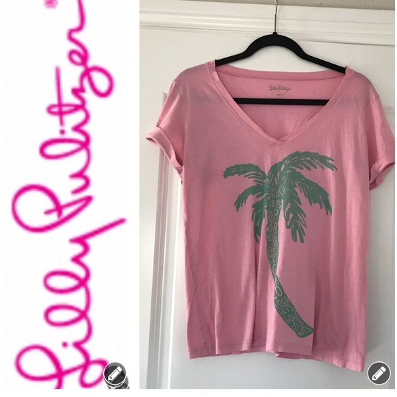 f919b2d2d Lilly Pulitzer Tops - Lilly Pulitzer Let's Go Coconuts 🥥 T-Shirt
